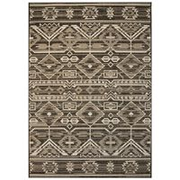 vidaXL Area Rug Sisal Look Indoor/Outdoor 140x200 cm Geometrical