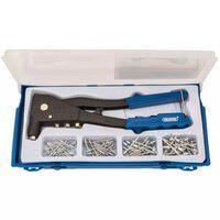 Draper Tools Rivet Gun Set Blue 27843
