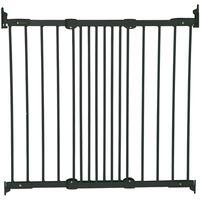 BabyDan Safety Gate FlexiGate Black 67-106.5 cm