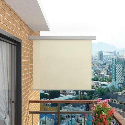 vidaXL Balcony Side Awning Multi-functional 150x200 cm Cream