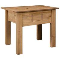 vidaXL Nightstand 50.5x50.5x52.5 cm Pine Panama Range