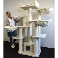 Scratching Post For Big Cats Maine Coon Fantasy Plus Cream