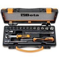 Beta Tools 18 Piece Ratchet and Socket Set 900/C13-5 009000953