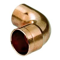 18mm Copper Pipe Elbow Fitting Connector Solder Male x Female