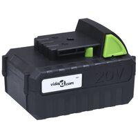 vidaXL Battery Pack 20V 4000 mAh Li-ion