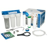 Multi-Stage Water Whole Filtration Under-Counter 3x Filter