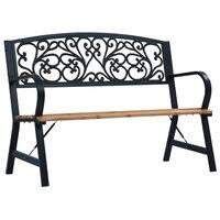vidaXL Garden Bench 120 cm Wood