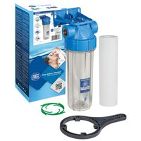 1 Inch Water Filter In-Line Purify 10 Inch Housing Whole Filter Set