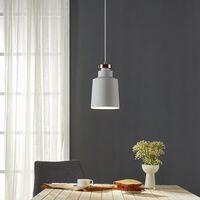 Versanora Pendant LED Light White Modern Hanging Ceiling Lighting VN-L
