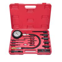 vidaXL 17 Piece Diesel Engine Compression Tester Kit