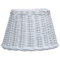 vidaXL Lamp Shade Wicker 40x26 cm White