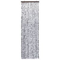 vidaXL Insect Curtain Brown and Beige 56x200 cm Chenille