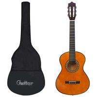"""vidaXL Classical Guitar for Beginner and Kid with Bag 1/2 34"""""""