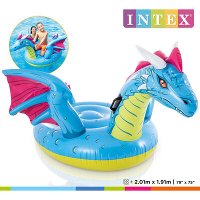 Intex Dragon Ride-on 201x191 cm