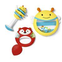 Skip Hop 3 Piece Toy Musical Instrument Set Explore & More