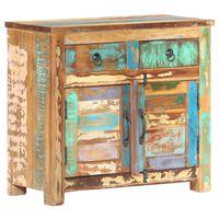 vidaXL Sideboard 70x35x65 cm Solid Reclaimed Wood