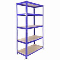 Monster Racking T-Rax Garage Storage Shelves 90cm W, 45cm D Blue