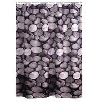 RIDDER Shower Curtain Piedras Textile