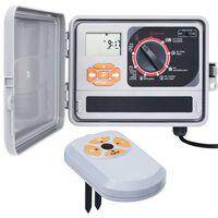 vidaXL Garden Water Irrigation Controller with Moisture Sensor
