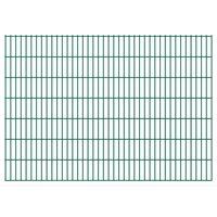 vidaXL 2D Garden Fence Panel 2.008x1.43 m  Green