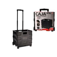 Foldable Crate On Wheels 38x30cm - Folding Crate - Collapsible
