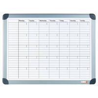 DESQ Magnetic Month Planner 60x90 cm White