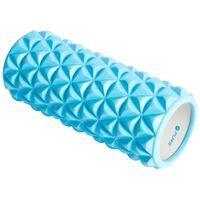 Pure2Improve Yoga Roller 33x14 cm Blue and White