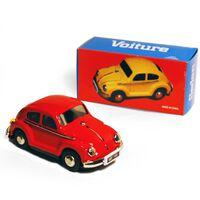 CAR - Retro Tin Volkswagen Collectable - Red