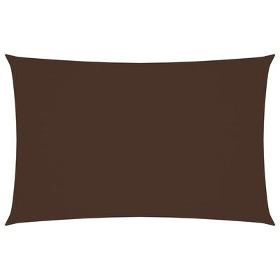 vidaXL Sunshade Sail Oxford Fabric Rectangular 3x6 m Brown