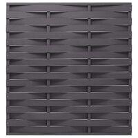 vidaXL Fence Panel WPC 170x180 cm Grey