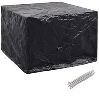 vidaXL Garden Furniture Cover 8 Eyelets 122x112x98 cm