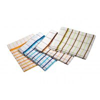 Ramon Premium Terry Check Tea Towels - 1 x 10