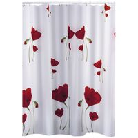 RIDDER Shower Curtain Mohn 180x200 cm