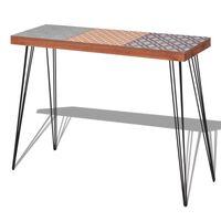 vidaXL Console Table 90x30x71.5 cm Brown