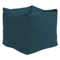 Icon Woven Origami Beanbag Pouffe, Footstool Bean Bags