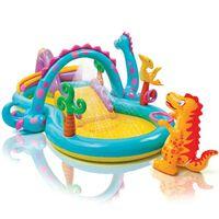 Intex Dinoland Play Center Inflatable Pool 333 x 229 x 112 cm 57135NP