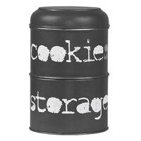 LABEL51 Cookie Storage Jar 17x17x27 cm Antique Black