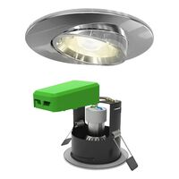 4litewiz Connected Gu10 White Tuneable Lamp & Chrome Downlight Ip20