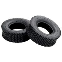 vidaXL Wheelbarrow Tyres 2 pcs 13x5.00-6 4PR Rubber