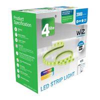 4lite Wiz Connected 2m Led Start Strip Light Multicolor Wifi&bluetooth