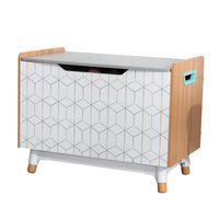 KidKraft Kid Toy Box Mid-Century Modern Grey 73.99x46x55.88 cm