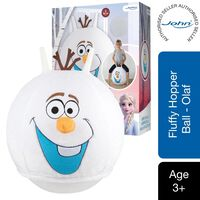 John Fluffy Jumping Ball Olaf Frozen The Ice Queen 2 With Plush Cover