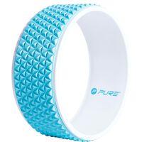 Pure2Improve Yoga Wheel 34 cm Blue and White