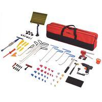 vidaXL 80 Piece Paintless Dent Repair Set Stainless Steel