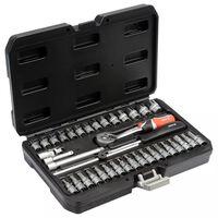 YATO 38 Piece Tool Set Metal Black YT-14471