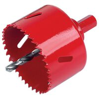 wolfcraft Hole Saw 60 mm with Hex Shank 5484000