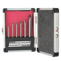 Brüder Mannesmann 6 Piece Glass Drill Bit Set Steel 54806
