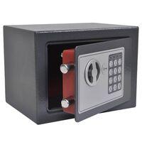 vidaXL Electronic Digital Safe 23x17x17 cm