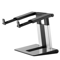 NewStar Foldable Laptop Stand 10-17 Silver and Black