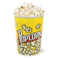 KuKoo Popcorn Boxes & Cinema Style Party Cartons, 25 Pack